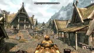 Skyrim: Driving a Dwemer Tank!