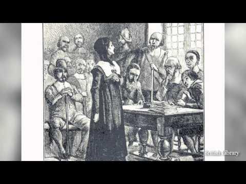Boston History in a Minute: Anne Hutchinson