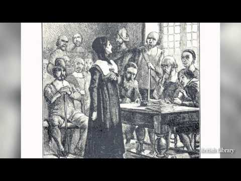 Boston History in a Minute: Anne Hutchinson