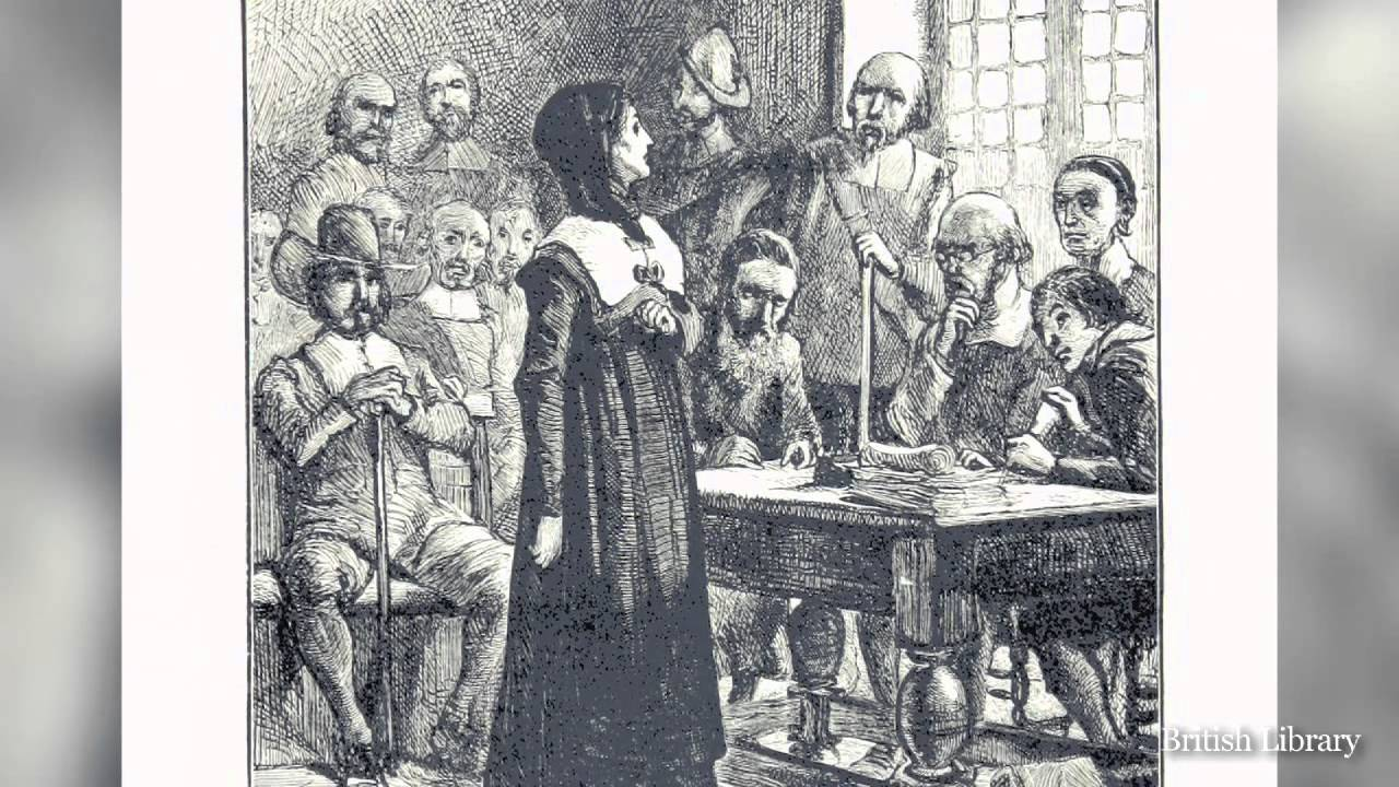 hutchinson banishment boston The events of the scarlet letter take place a few years after anne hutchinson's trial and banishment  meetings drew nearly a third of the population of boston.