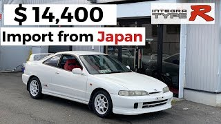 Honda Integra Type R DC2! Store in Japan and Import to USA in 2021