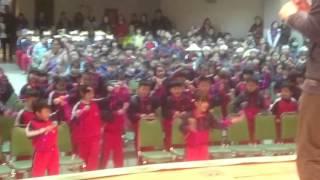 2016。3。25 聖心小學運動會開場舞