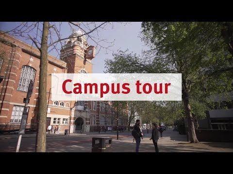 City, University of London: Campus tour