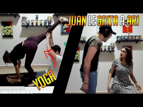 ARIGAMEPLAYS ENCEÑA A HACER YOGA | CLIPS DE TWITCH