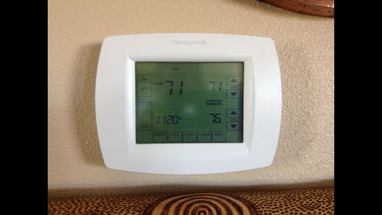 No heat furnace: Check the thermostat. Part 2 - YouTube
