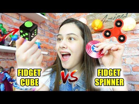 FIDGET CUBE VS FIDGET SPINNER
