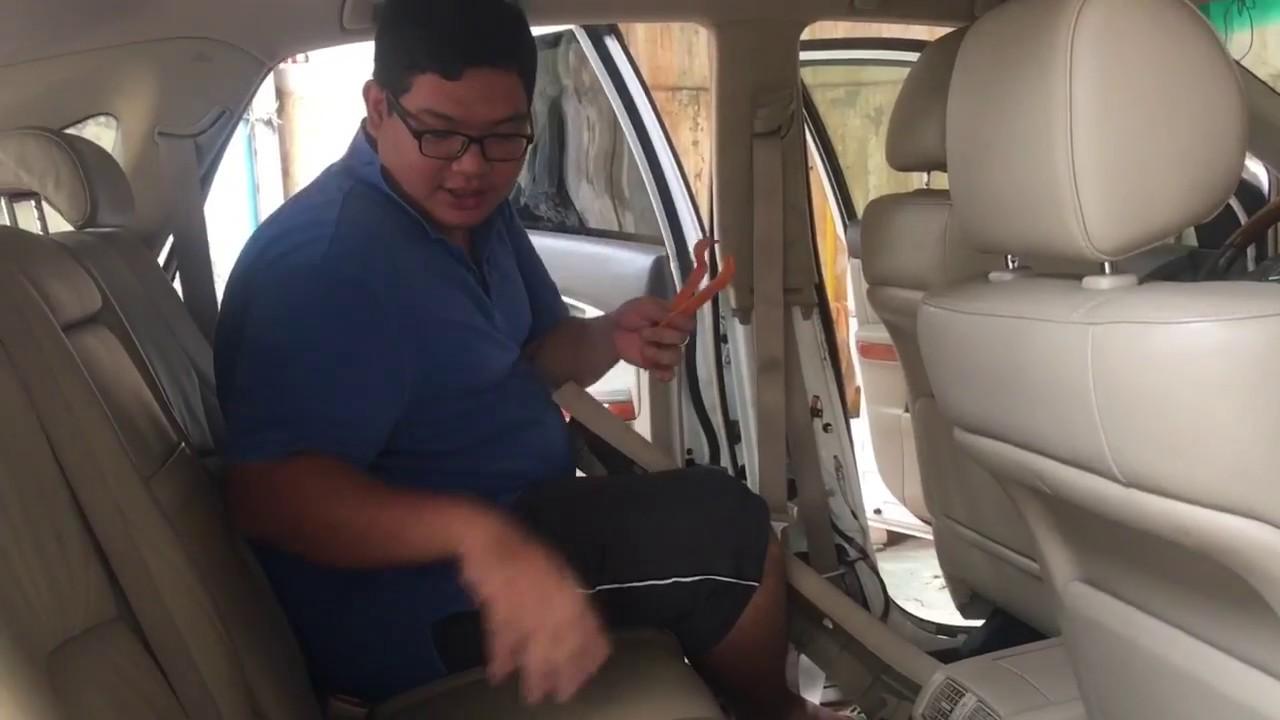 How To Fix Stuck Safety Belt