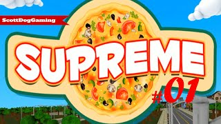 Supreme Pizza Game Lets Play EP 1 ScottDogGaming HD