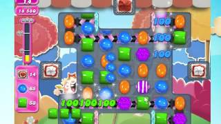 Candy Crush Saga Level 1696 NO BOOSTERS!