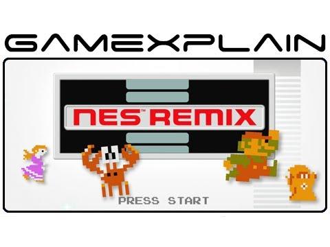 NES Remix - Game & Watch (Wii U eShop Video Preview)