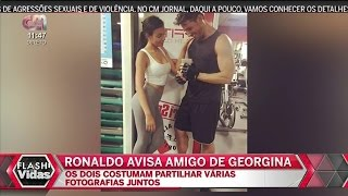 Cristiano Ronaldo AVISA Amigo De Georgina Rodriguez