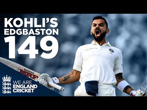 Kohli's FIRST Test Century in England! | Edgbaston 2018 | En