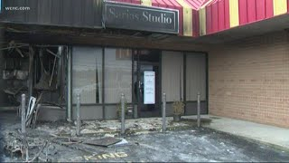 Charlotte business fire being investigated as arson