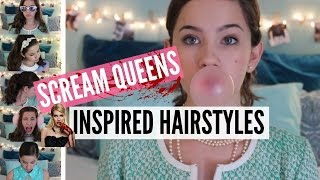 Scream Queens Inspired Hairstyles
