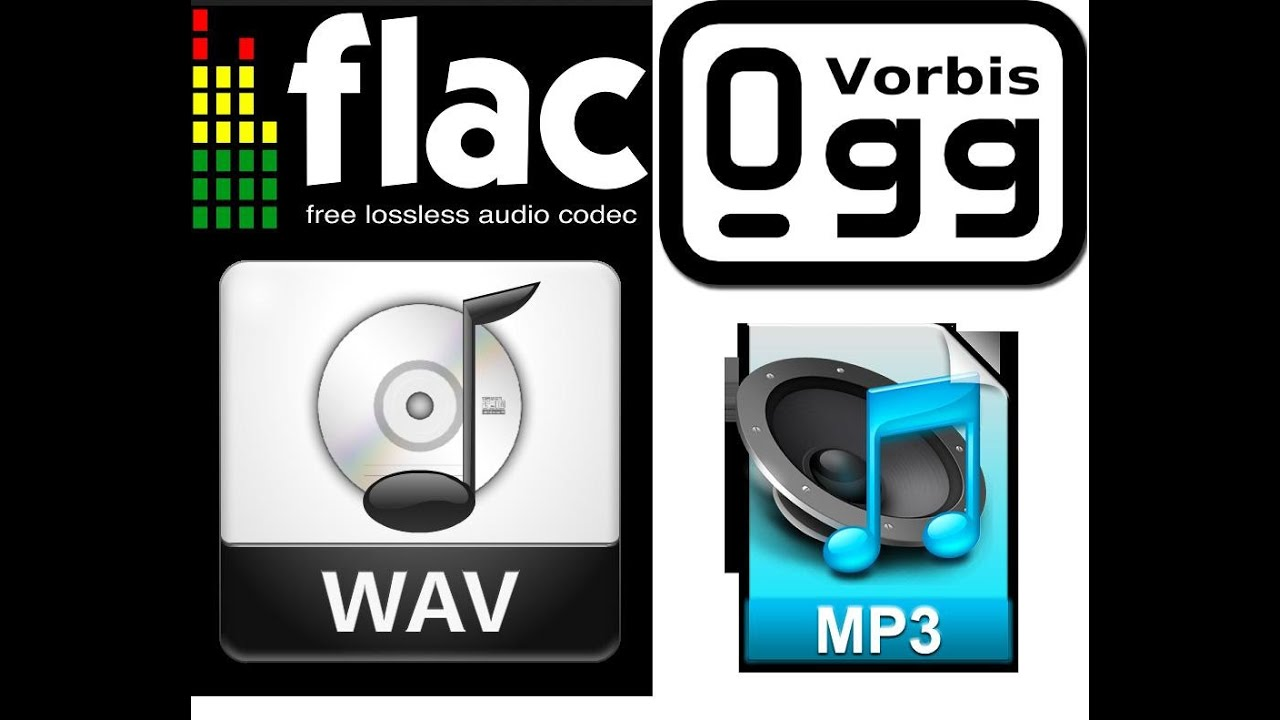 FLAC, WAV, MP3, Ogg Differences