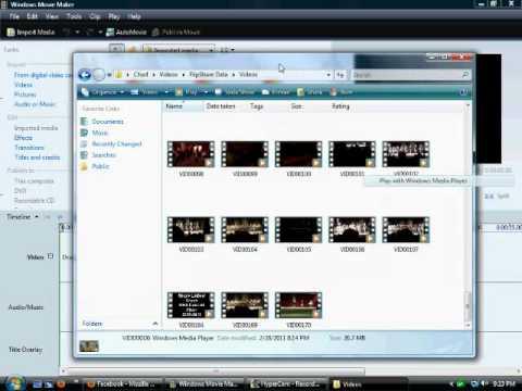 How To Get Flip Cam Videos On Windows Movie Maker