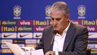 O momento crítico de Tite na seleção brasileira
