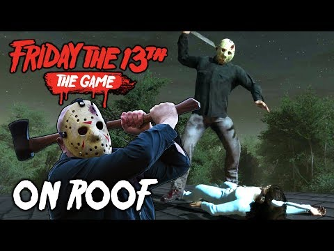 Jason on Packanack Roof | Friday the 13th: The Game