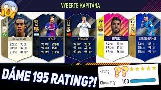 195 RATING DRAFT CHALLENGE!   FIFA 18 RETRO DRAFTS