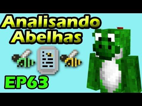 Minecraft com Mods - Analisando Abelhas - EP63