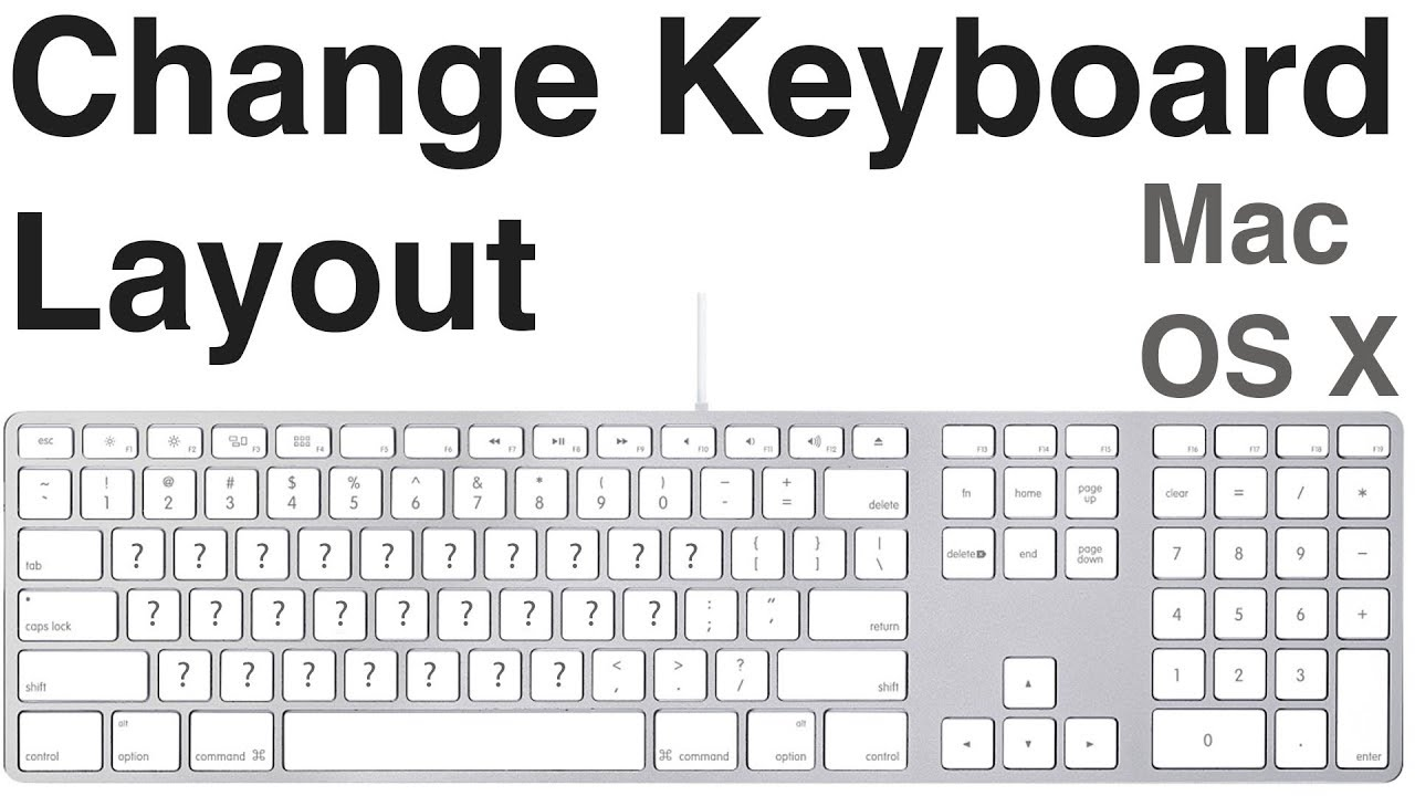 Keyboard Layouts
