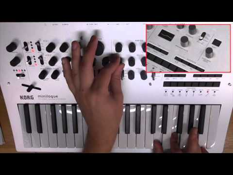 KORG minilogue: Polyphonic Analogue Synthesizer Overview