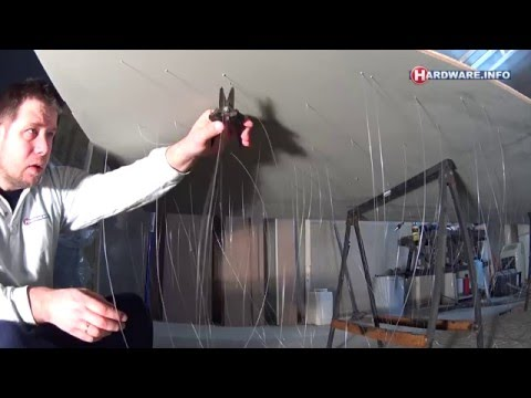 Building a fiber optic star ceiling - part 1