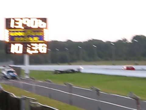 Raceway Park Englishtown NJ Sept18 2009 Challenger 14 mile time 002