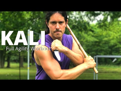 full-agility-workout-for-kali-escrima-arnis---stick,-footwork,-knife