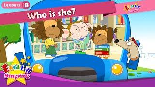 Kim o(B)13_ dersin? İçin - karikatür Öykü İngilizce Eğitimi - Kolay konuşma çocuk