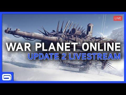 WAR PLANET ONLINE – Update 2 Livestream & Giveaway