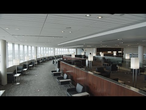 Air Canada: Welcoming you back to our Maple Leaf Lounge