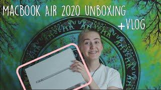 UNBOXING| 2020 MacBook Air + Vlog