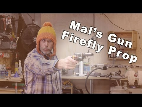 Firefly Malcolm Reynolds Prop Gun Build - Microballons in Alumilite Casting Resin
