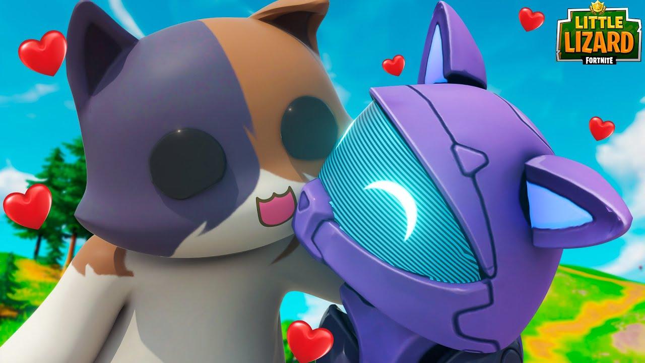 KIT MEETS HIS ONE TRUE LOVE!!! - Fortnite Season 3