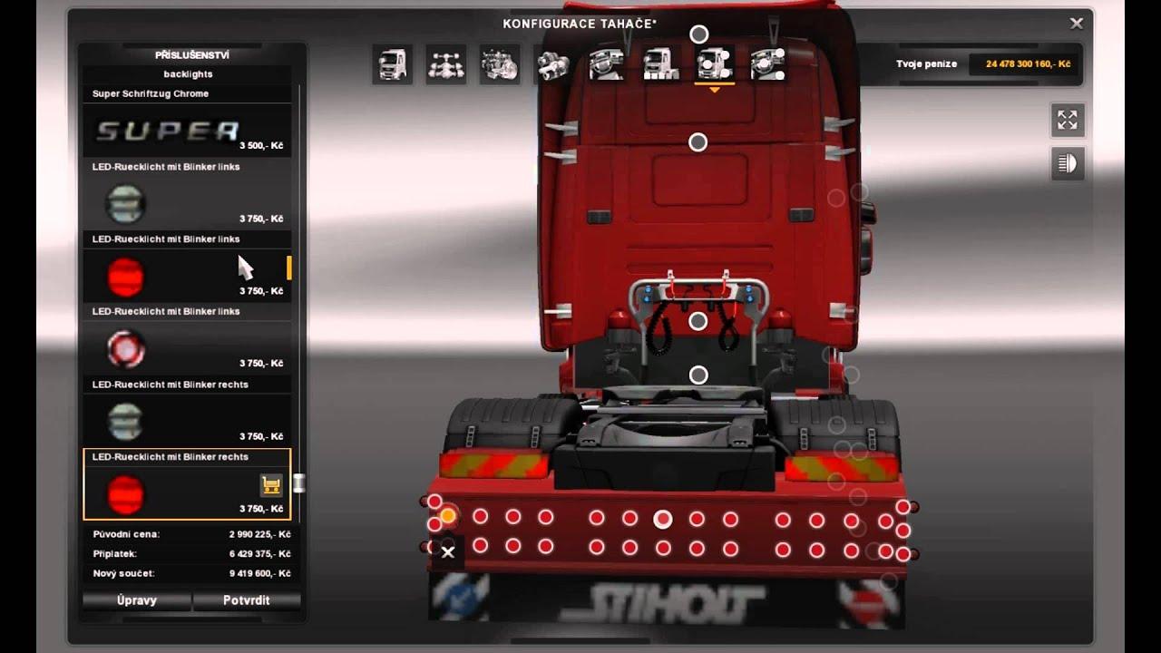 Ets2 Euro Truck Simulator 2 Scania T Cab Pack V 1 0 Youtube
