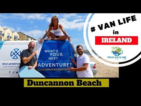 Ireland Road Trip - visiting Duncannon Beach