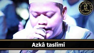 Azka Taslimi + Lirik | Az Zahir Terbaru