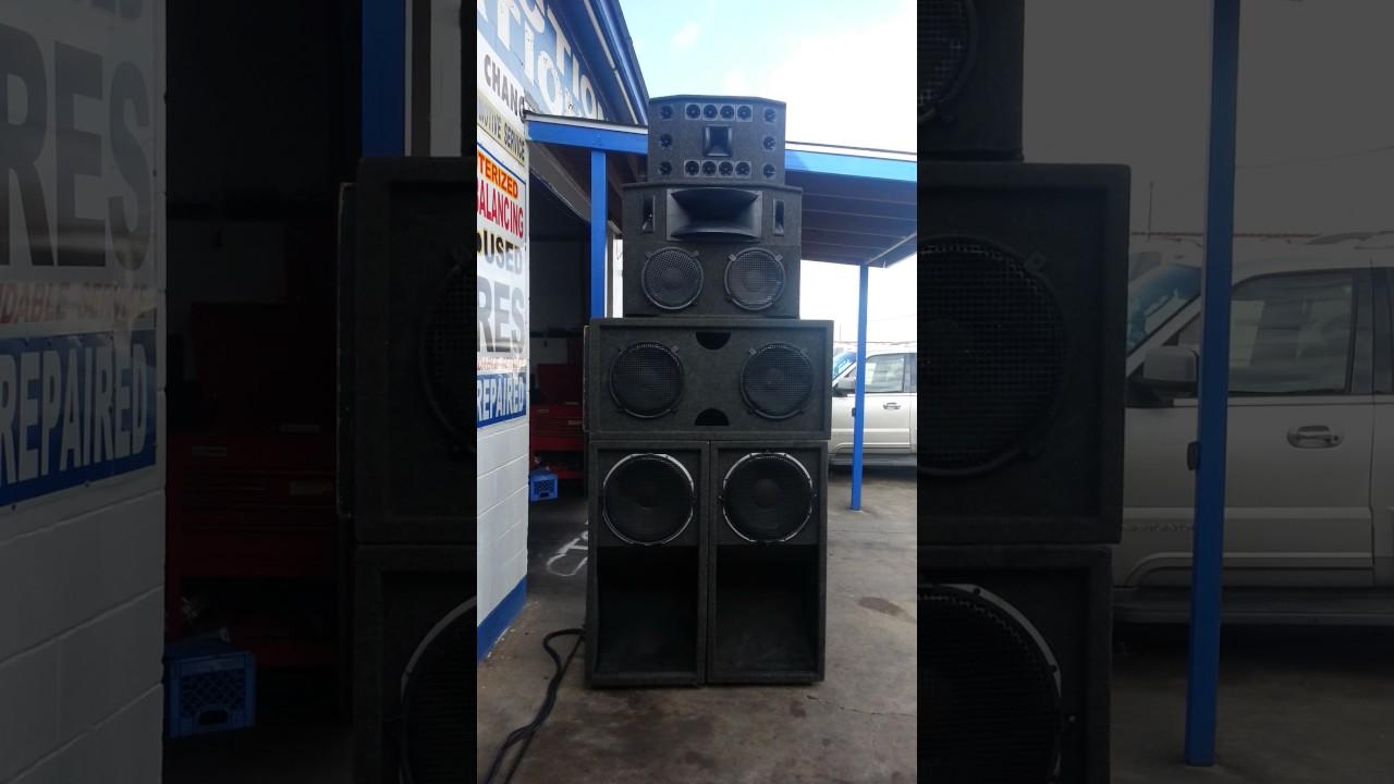 Sugar Notch Sound System Houston Texas 12/24/16