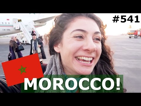 FLIGHT TO MOROCCO! | TANGER DAY 541 | TRAVEL VLOG IV