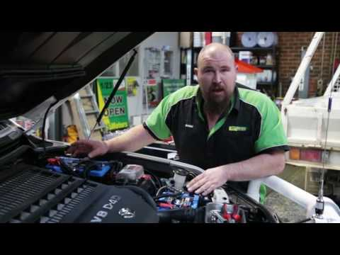 4WD Battery and Accessories set-up