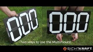 PIED SICHTKRAFT MULTI-MOUNT vidéo
