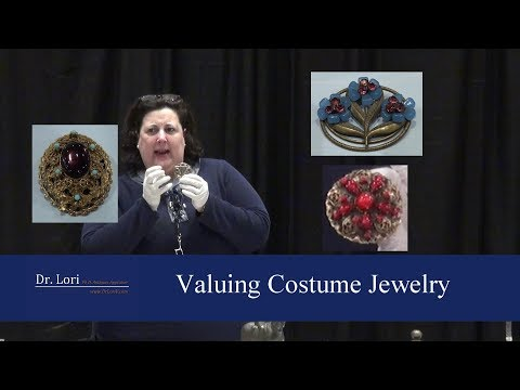 Valuing Costume Jewelry Pins, Brooches, More By Dr. Lori