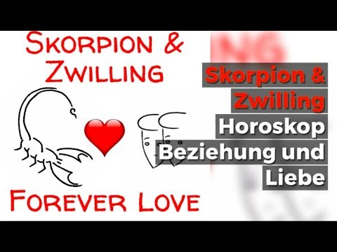 Skorpion Zwillinge Liebe Horoskop Youtube