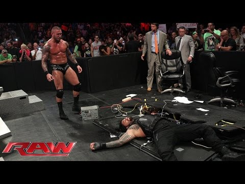 Roman Reigns vs. Kane: Raw, July 28, 2014