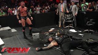 Roman Reigns Vs. Kane: Raw, July 28, 2014
