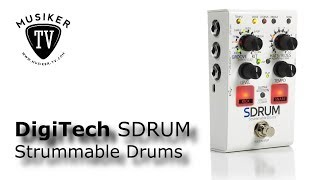 DigiTech SDRUM Strummable Drums - Review
