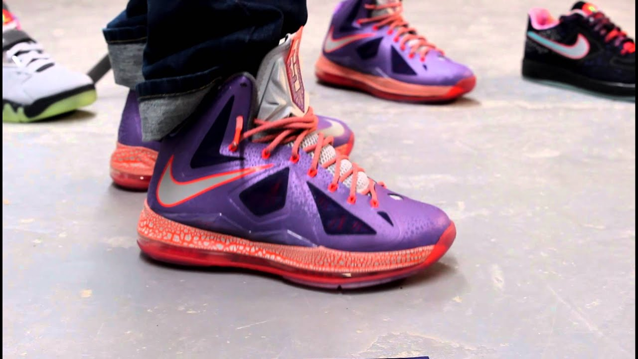 "Lebron X ""Area 72"" On-feet Video at Exclucity - YouTube"