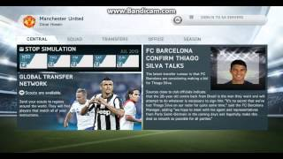 FIFA 14 MODDINGWAY PATCH 14/15 MANCHESTER UNITED CAREEr