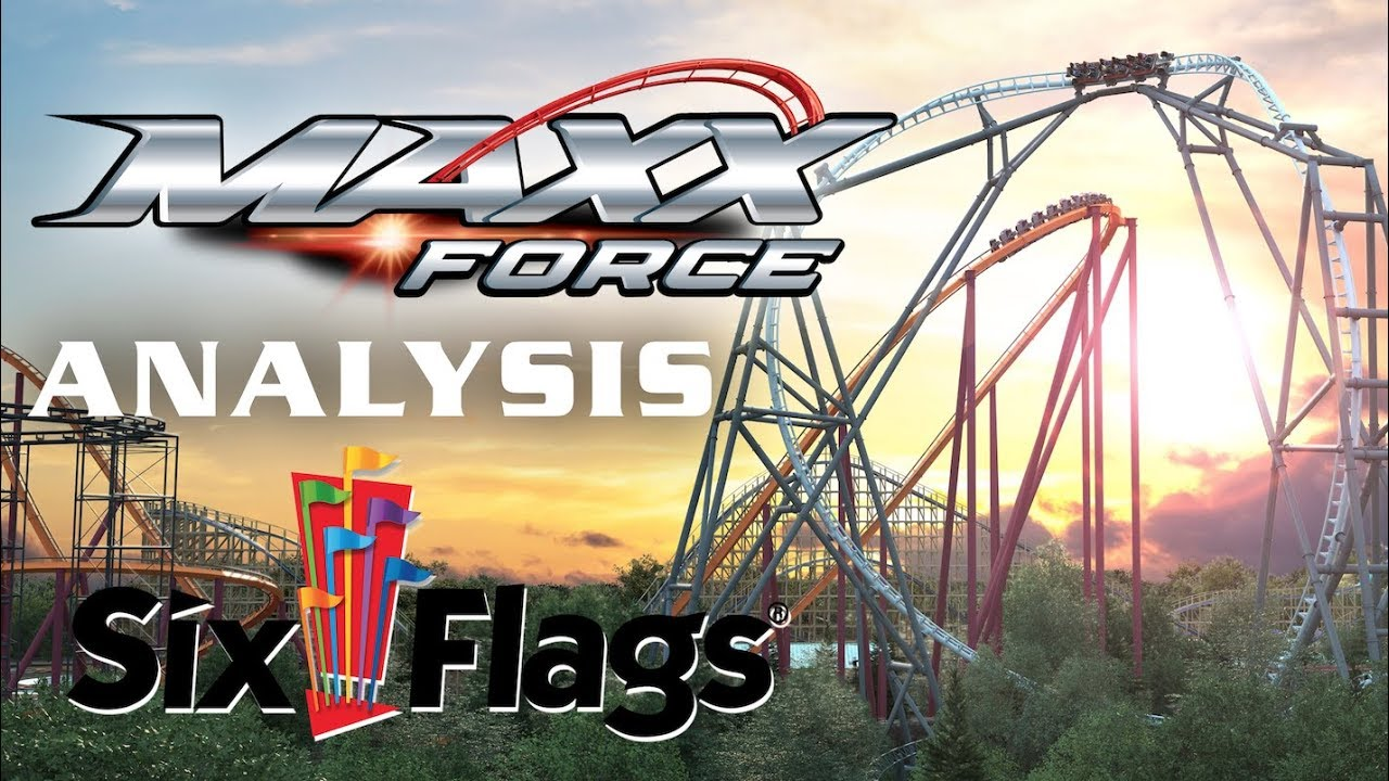 Maxx Force Analysis Six Flags Great America 2019 Launch Coaster